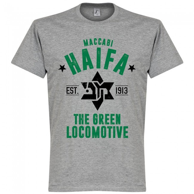 Maccabi Haifa Established T-Shirt - Grey