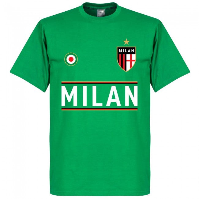 Milan Team T-Shirt - Green