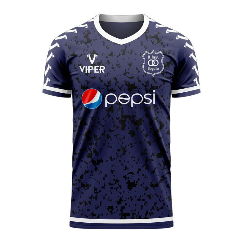 Millonarios 2020-2021 Home Concept Football Kit (Viper) - Kids (Long Sleeve)