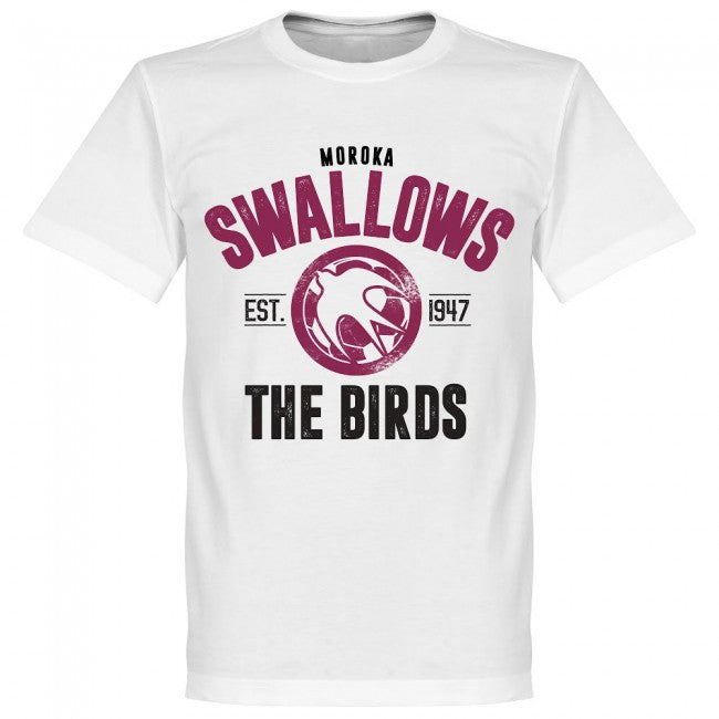 Moroka Swallows Established T-Shirt - White - Terrace Gear