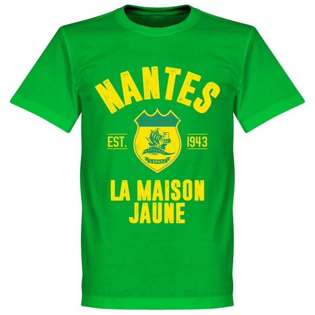 Nantes Established T-Shirt - Green - Terrace Gear