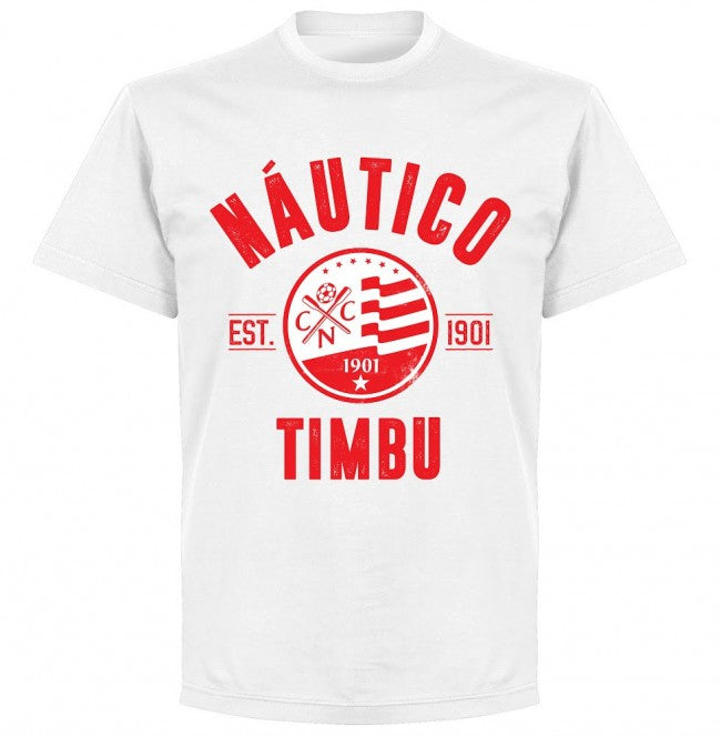 Nautico Established T-Shirt - White - Terrace Gear