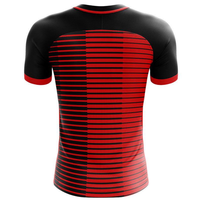 Newells Old Boys 2020-2021 Home Concept Football Kit - Terrace Gear