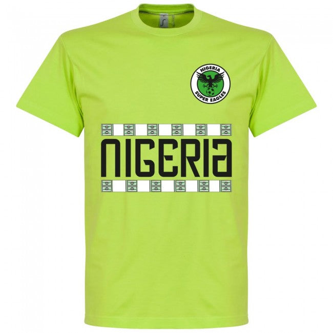 Nigeria Team T-Shirt - Light Green