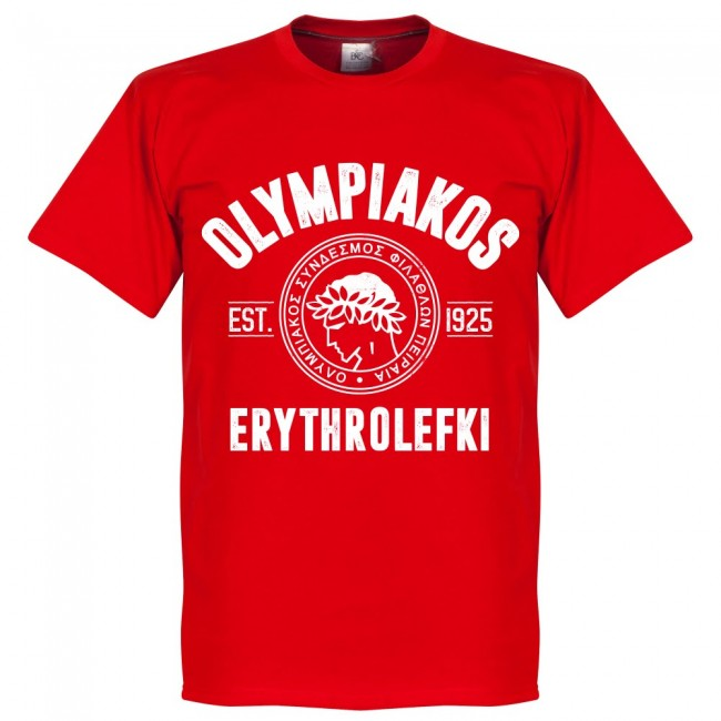 Olympiakos Established T-Shirt - Red