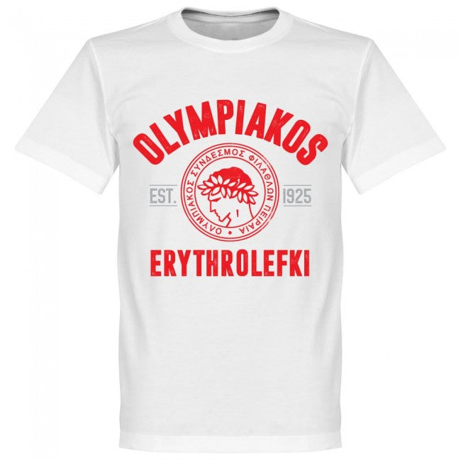 Olympiakos Established T-Shirt - White