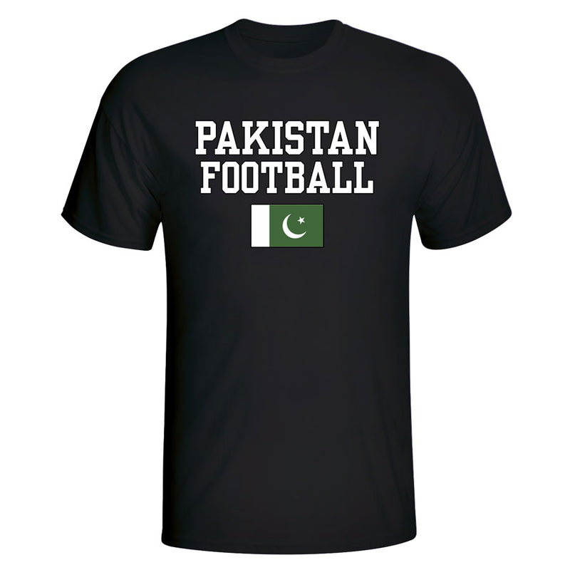 Pakistan Football T-Shirt - Black