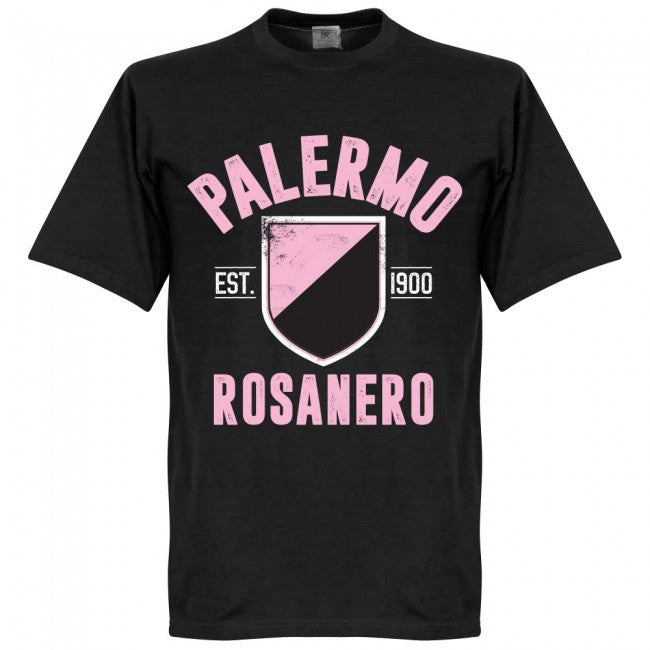 Palermo Established T-Shirt - Black - Terrace Gear