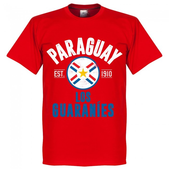 Paraguay Established T-Shirt - Red