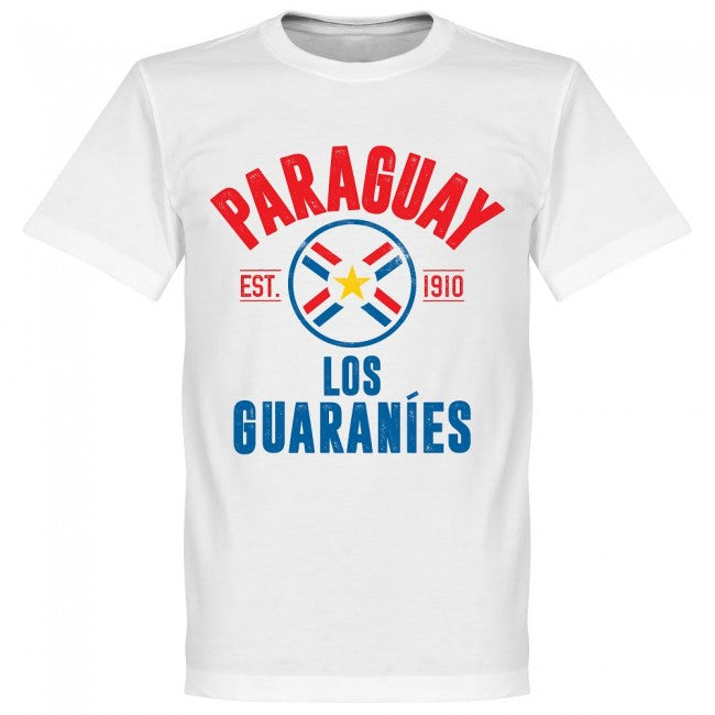 Paraguay Established T-Shirt - White