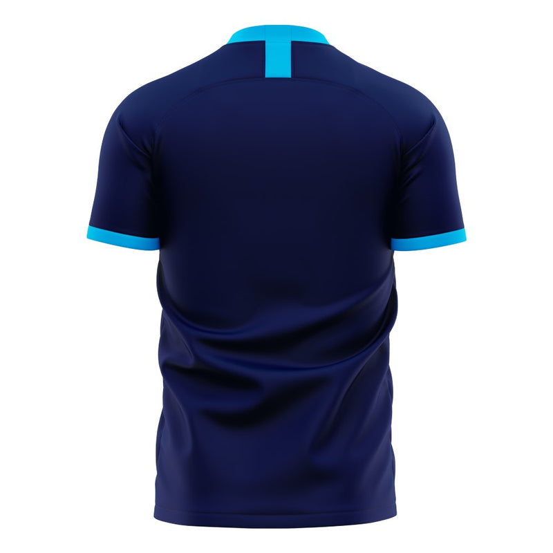 Paris FC 2020-2021 Home Concept Football Kit (Libero) - Terrace Gear