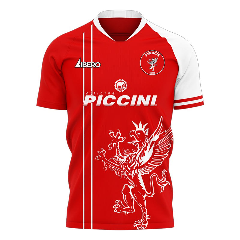 Perugia 2020-2021 Home Concept Football Kit (Libero) - Terrace Gear