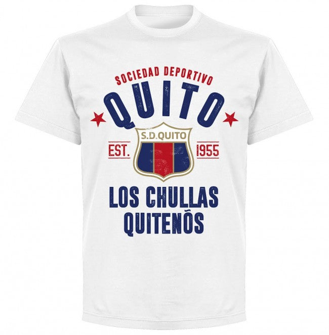 Quito Established T-shirt - White - Terrace Gear
