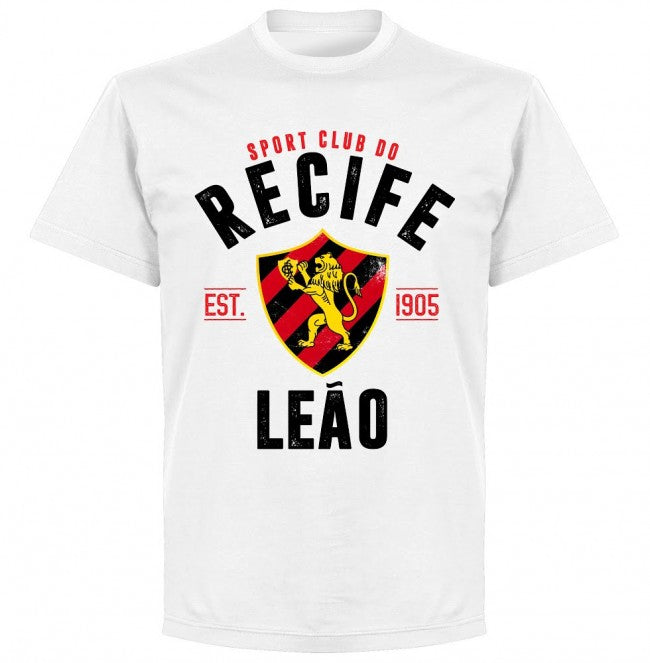 Recife Established T-Shirt - White - Terrace Gear