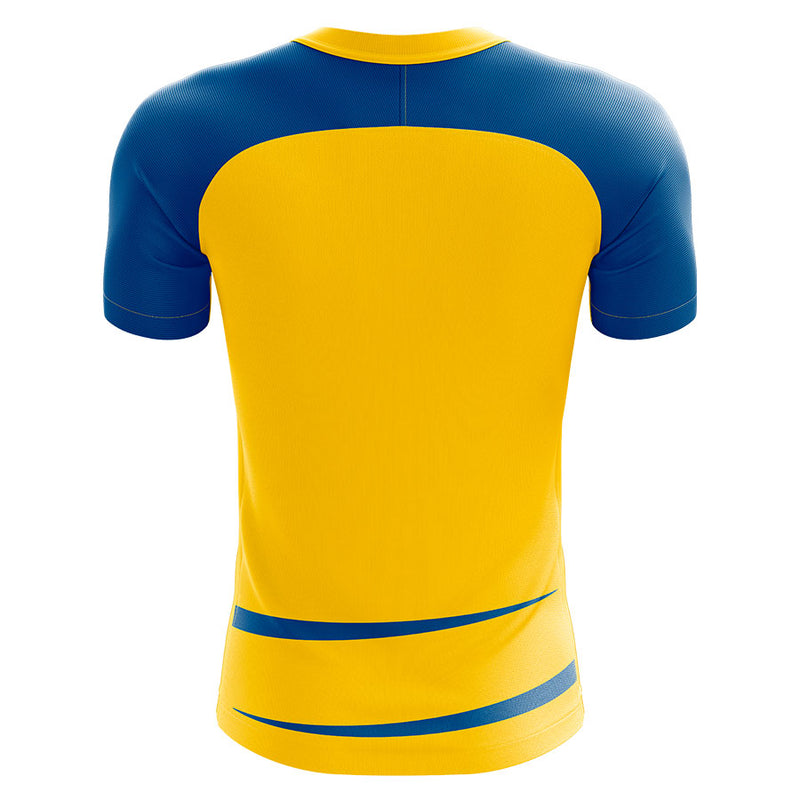Sweden 2020-2021 Home Concept Football Kit (Airo) - Terrace Gear
