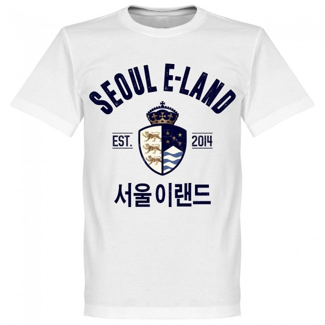 Seoul E-Land Established T-Shirt - White - Terrace Gear