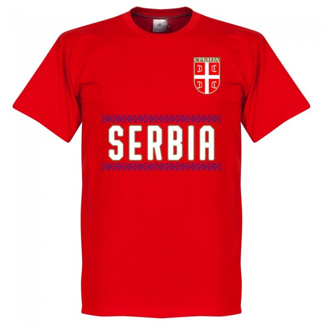 Serbia Team T-Shirt - Red