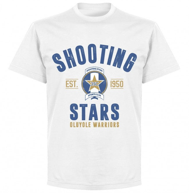 Shooting Stars Established T-shirt - White - Terrace Gear