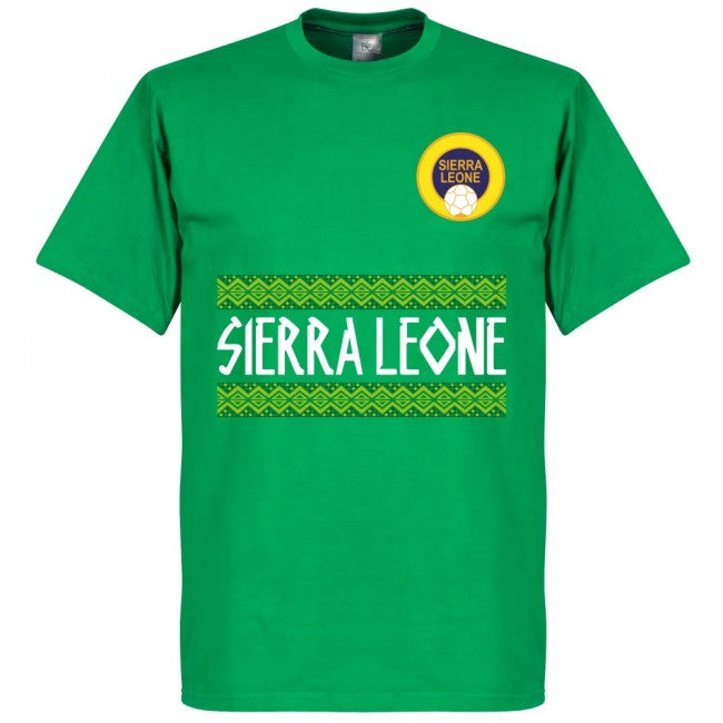 Sierra Leone Team T-Shirt - Green