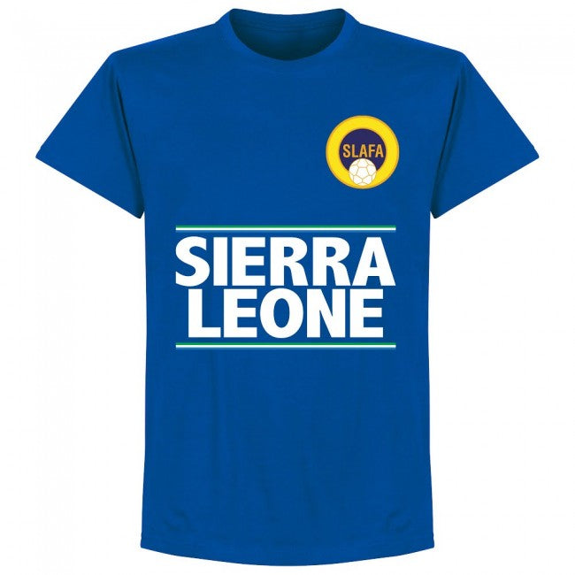 Sierra Leone Team T-Shirt - Royal