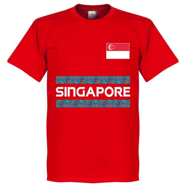 Singapore Team T-Shirt - Red