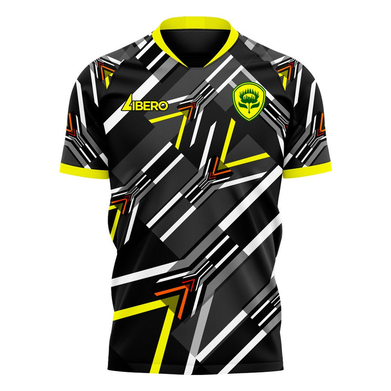 South Africa 2020-2021 Away Concept Football Kit (Libero) - Terrace Gear
