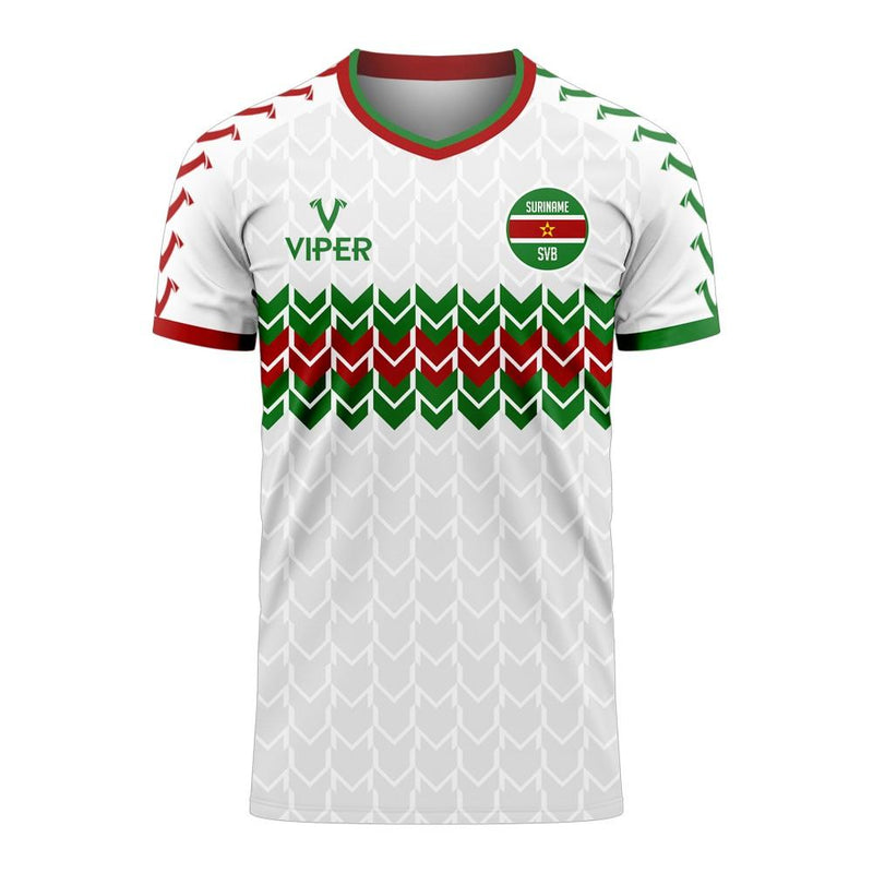 Suriname 2020-2021 Home Concept Football Kit (Viper) - Kids
