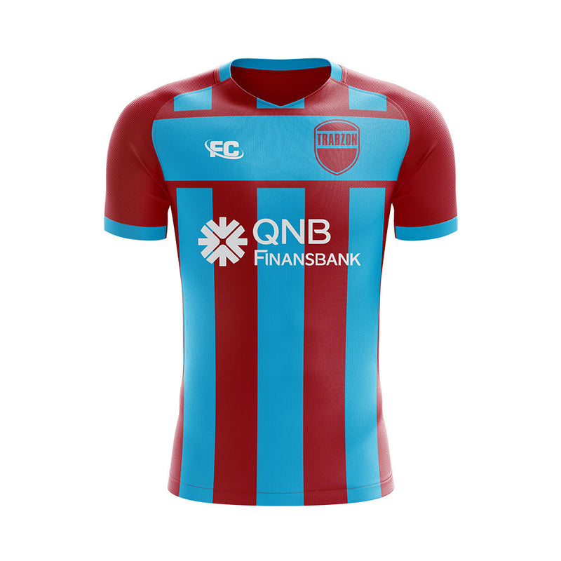 Trabzonspor 2020-2021 Home Concept Football Kit - Terrace Gear