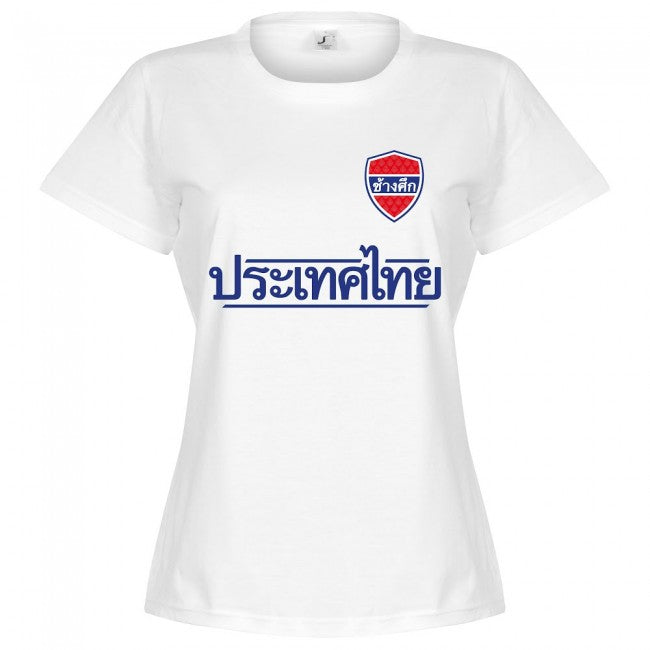 Thailand Team Womens T-Shirt - White