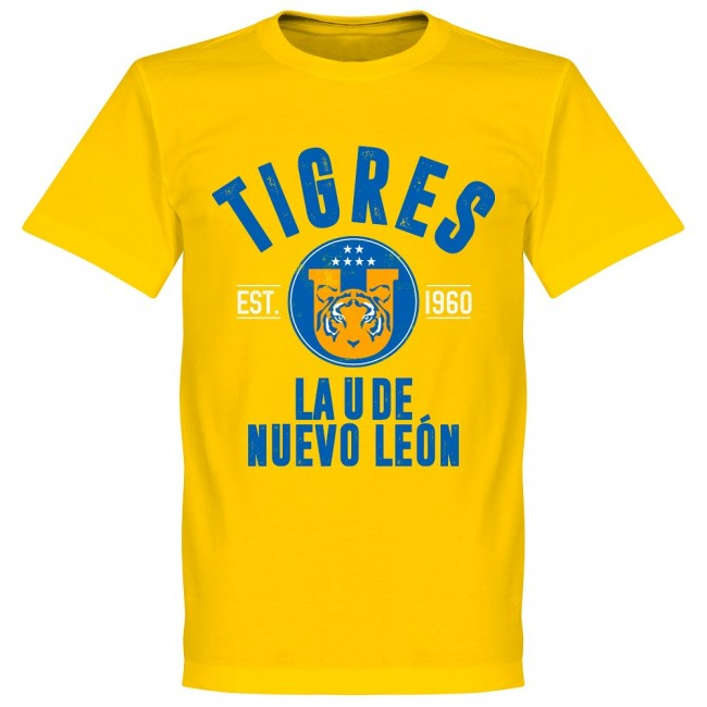 Tigres Established T-Shirt - Yellow