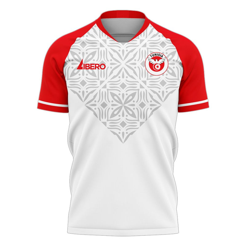 Tunisia 2020-2021 Home Concept Football Kit (Libero) - Terrace Gear