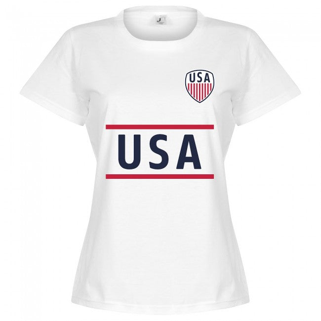 USA Team Womens T-Shirt - White