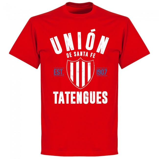 Union De Santa Fe Established T-Shirt - Red - Terrace Gear