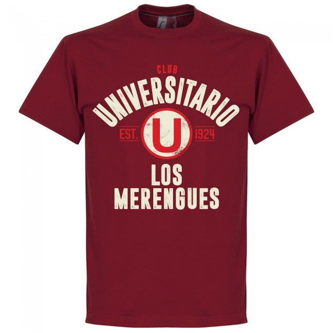 Universitario Established T-Shirt - Chilli Red