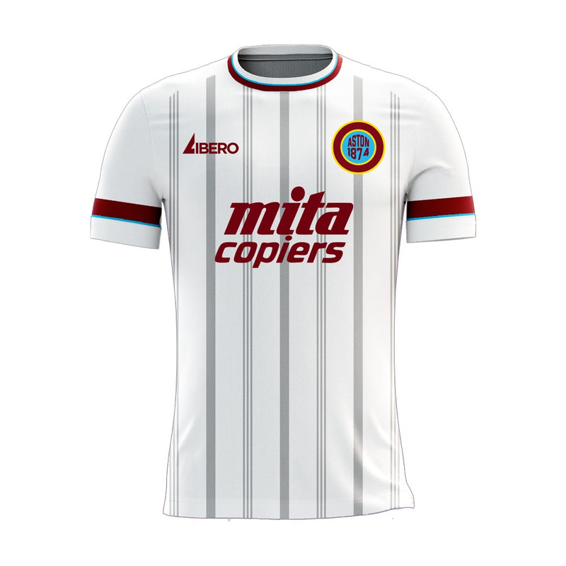 Villa 2020-2021 Away Concept Football Kit (Libero) - Terrace Gear
