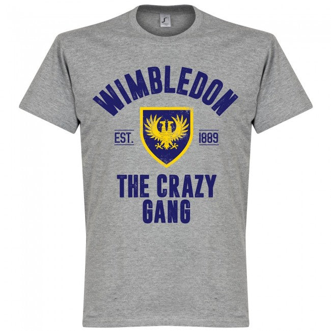 Wimbledon Established T-Shirt - Grey