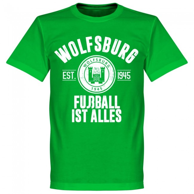 Wolfsburg Established T-Shirt - Green