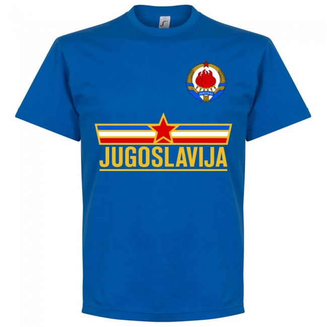 Yugoslavia Team KIDS T-Shirt - Royal