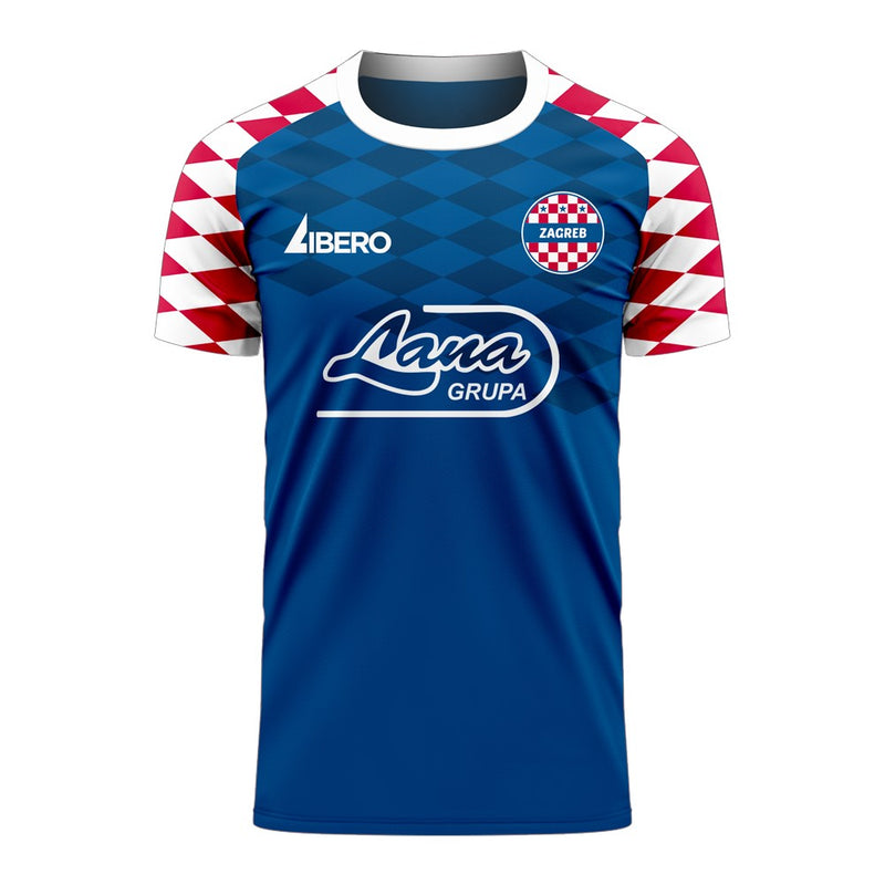 Dinamo Zagreb 2020-2021 Home Concept Football Kit (Libero)