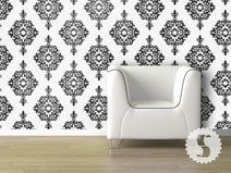 Diamond Damask