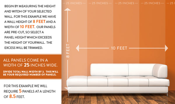 Choosing the right size of your walls