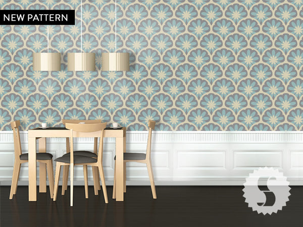 blooming removable temporary wallpaper - Temporary Walpaper