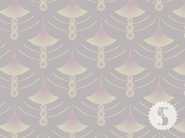 Vintage Pattern - Droplets