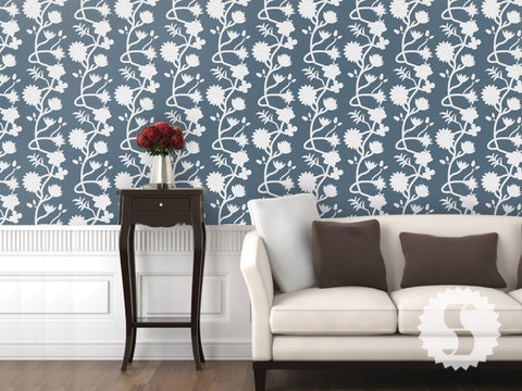 More Colors Flower Wall Removable U0026 Temporary Wallpaper