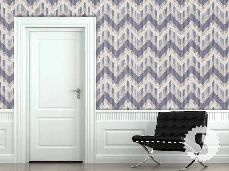 glass tile zigzag removable temporary wallpaper - Temporary Walpaper