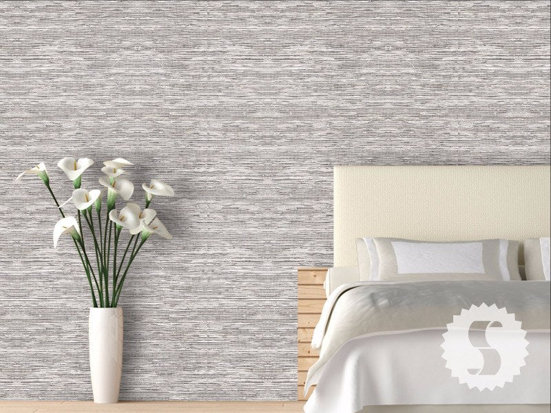 Grasscloth Removable Temporary Wallpaper