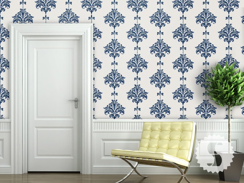 Ikat Removable Temporary Wallpaper