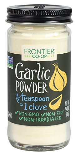 Frontier Garlic Powder, 2.4-Ounce Bottle