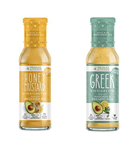 Primal Kitchen - Vinaigrette Combo Pack (Honey Mustard and Greek)
