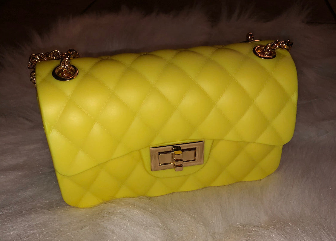 Yellow jelly bag